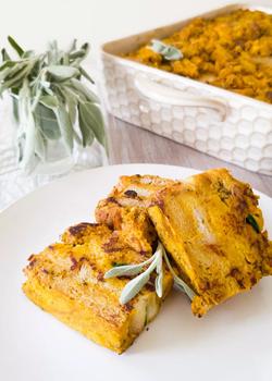 breakfast casserole with kale