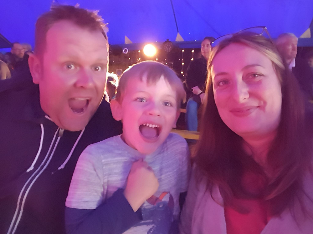 Finley's first circus visit