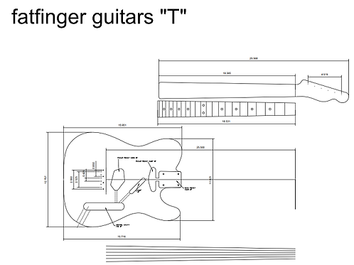 fatfinger T Model Printable PDF