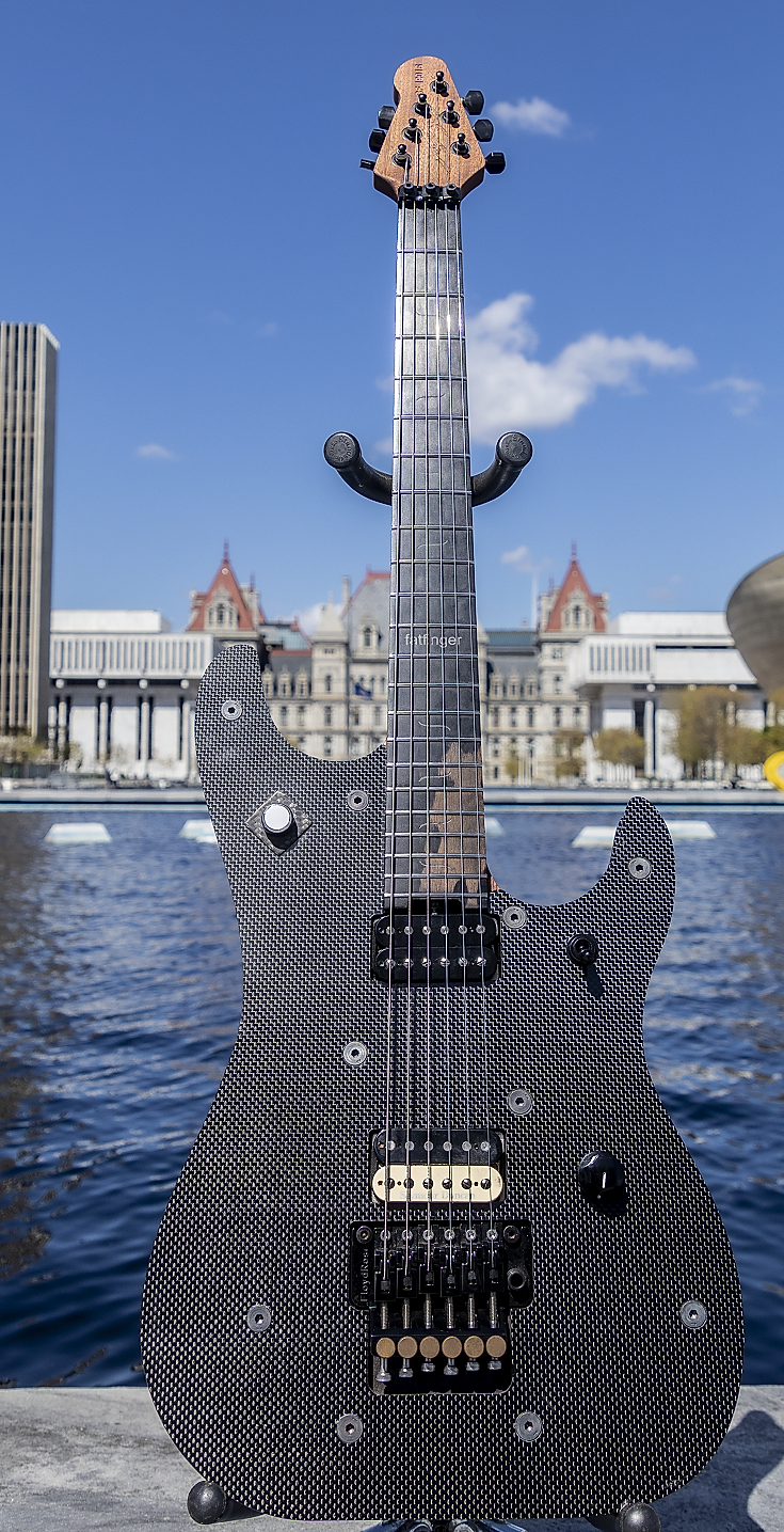 fatfinger electric guitar carbon fiber guitar