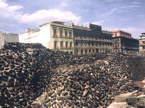 Ruiny Tenochtitlan