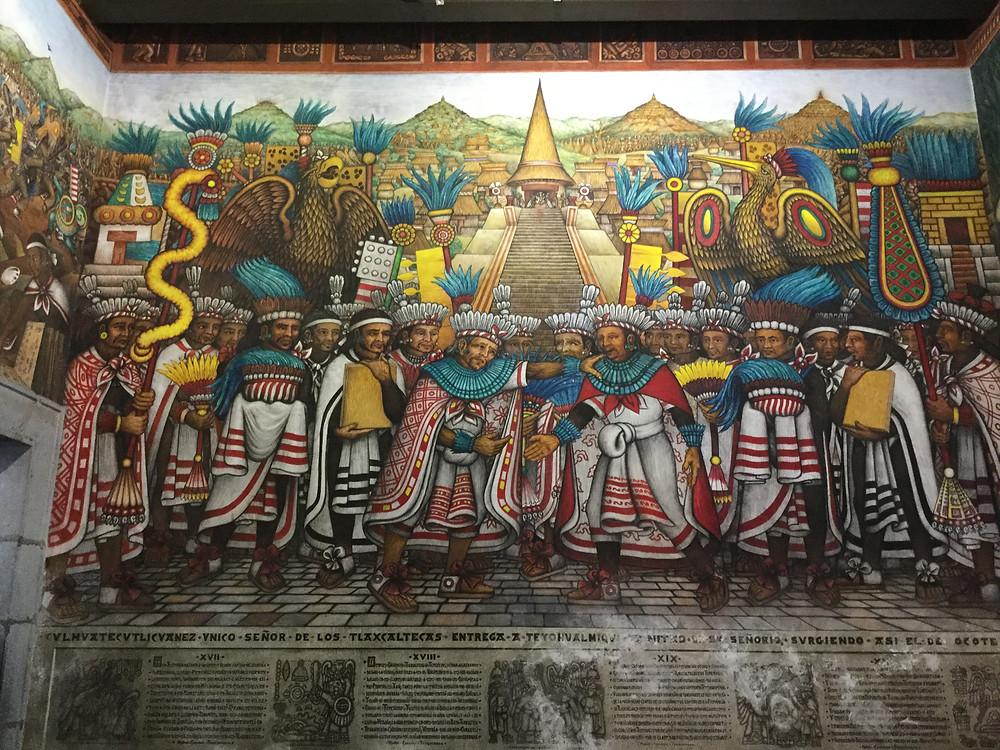 Mural w Pałacu Gubernatora