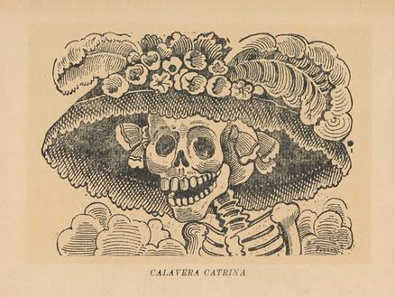 Catrina — koścista pani z Meksyku