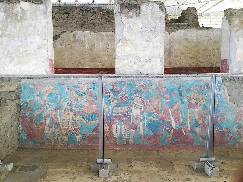 "Mural ""La batalla"" (Bitwa)"