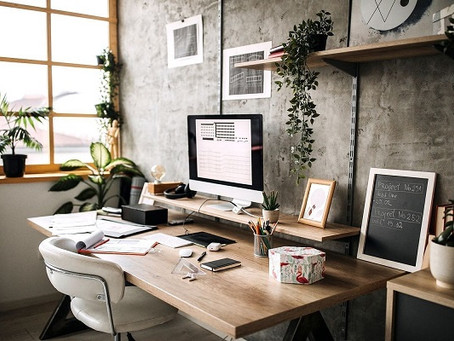 4 Simple Updates to Refresh the Home Office!