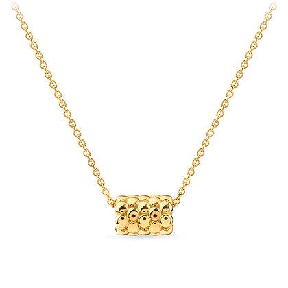 18k yellow gold pendant