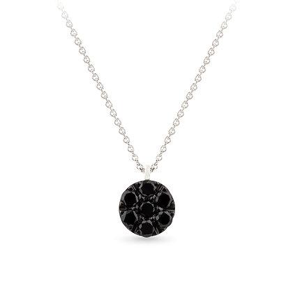 18k white gold and diamonds pendant