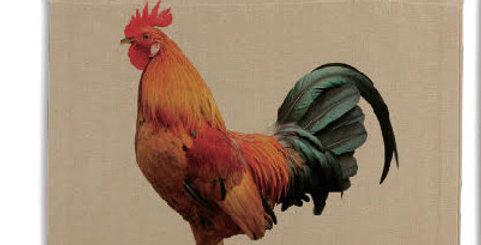 Tote bag - Rooster - natural