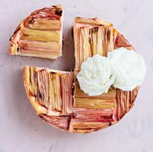 vegan-baked-rhubarb-vanilla-cheesecake-2