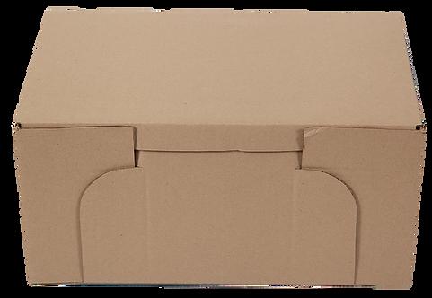 BROWN NUMBER BOX