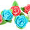 Thumbnail: FLOWERS - SMALL ROSE WITH LEAVES