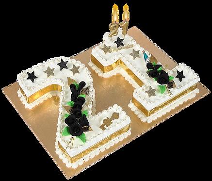 21ST CAKE - F75