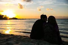 Jillian and Jeremy engagement shoot at sunrise