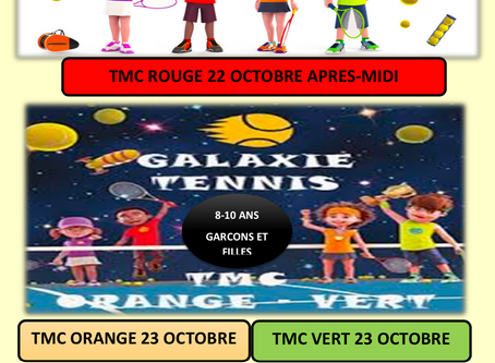 TMC rouge le 22 octobre 2020