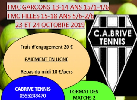 TMC Garçons et Filles - octobre 2019