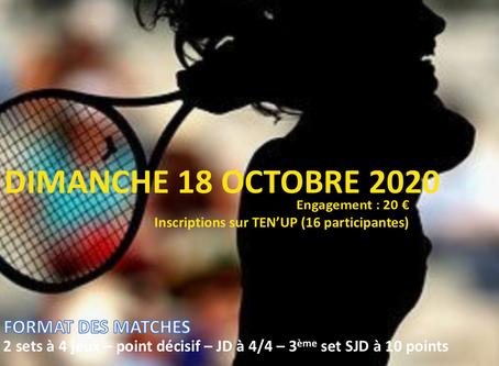 TMC Dames le 18 octobre 2020