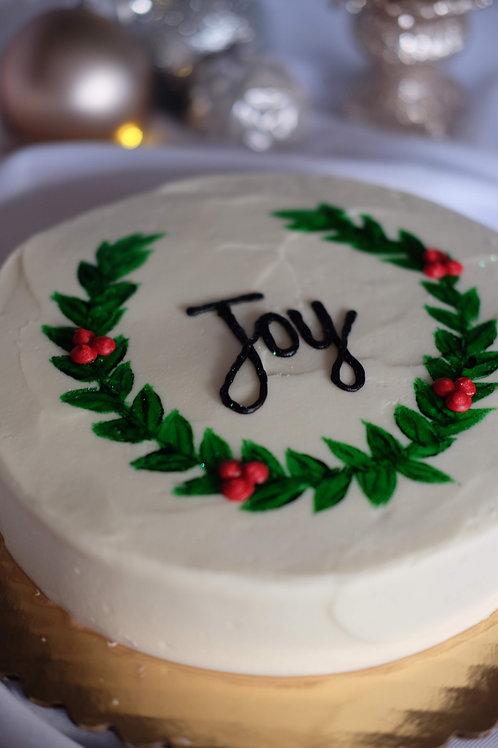 Single Layer Gingerbread Cake