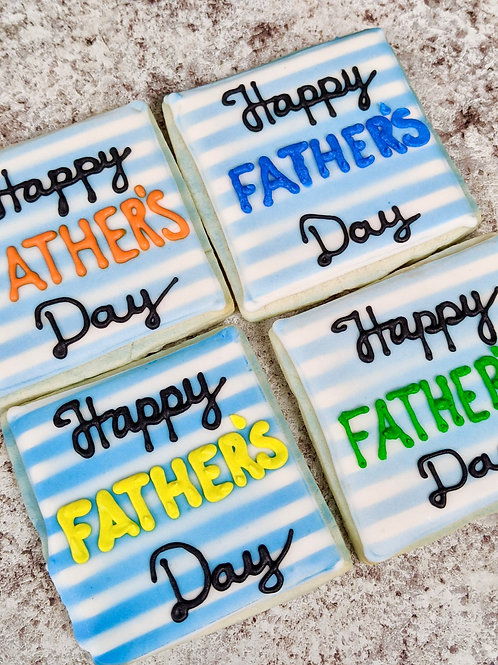 Fathers Day Royal Iced (4 Pack)