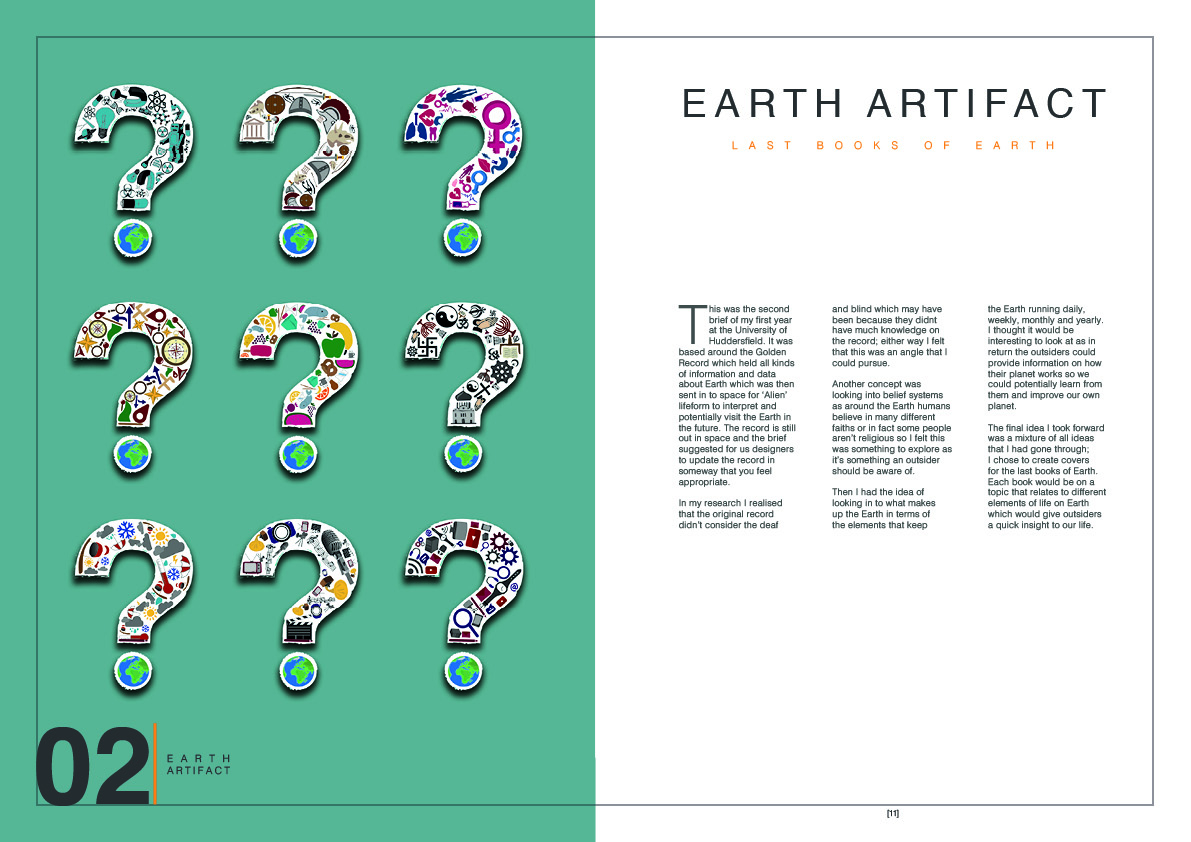 Earth artifact