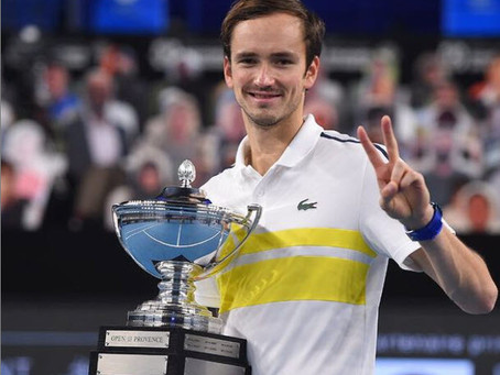 medvedev (rus) wins 10th title in marseille