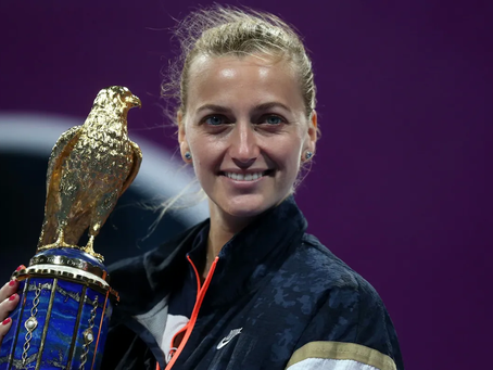 KVITOVA (CZE) WINS 28TH TITLE IN DOHA
