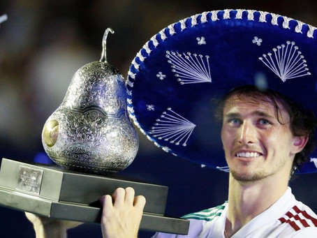 ZVEREV (GER) WINS 14TH TITLE IN ACAPULCO