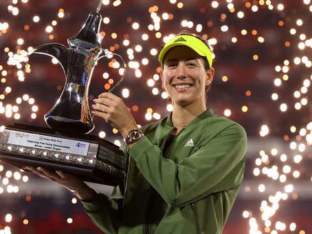 MUGURUZA (ESP) WINS 8TH TITLE IN DUBAI