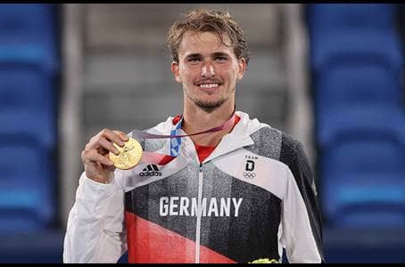 ZVEREV (GER) WINS 16TH TITLE AT OLYMPICS