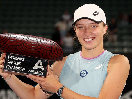 SWIATEK (POL) WINS 2ND TITLE IN ADELAIDE