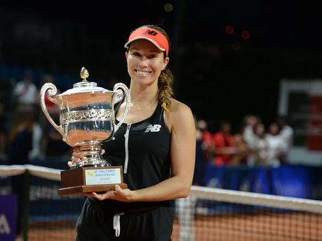 COLLINS (USA) WINS 1ST TITLE AT PALERMO