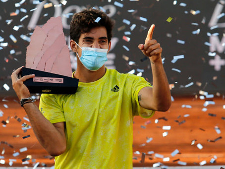 GARIN (CHI) WINS 5TH TITLE IN SANTIAGO