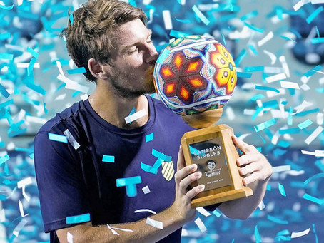 NORRIE (GBR) WINS 1ST TITLE AT LOS CABOS