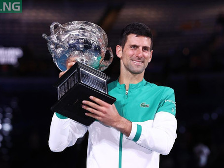 DJOKOVIC (SRB) WINS 82ND TITLE AT AUS OPEN