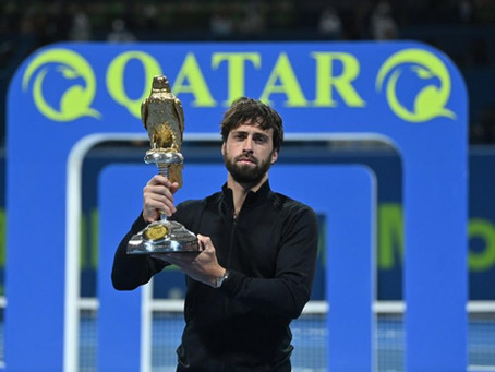 BASILASHVILI (GEO) WINS 4TH TITLE IN DOHA
