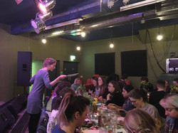 Tapas and Storytelling
