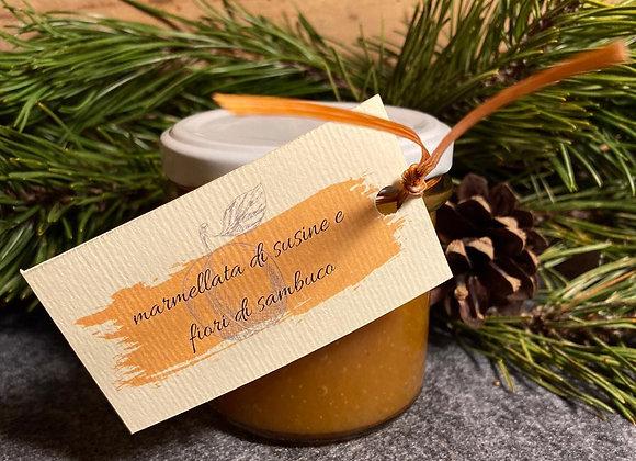 confettura di susine e fiori di sambuco