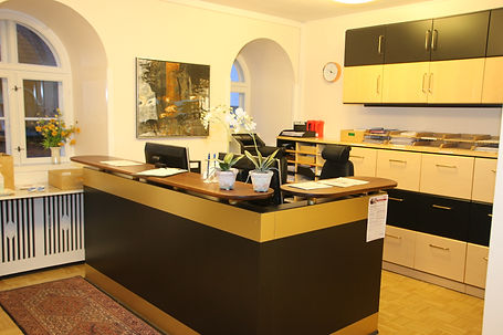 Klinikkens reception