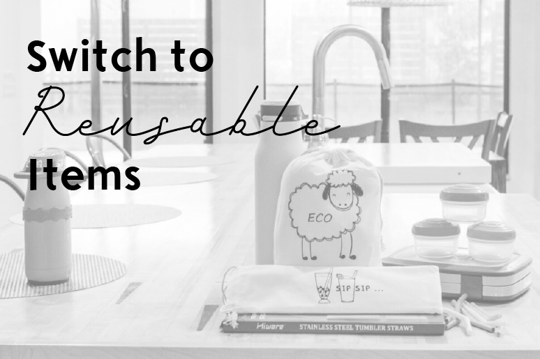 Switch to Reusable Items to ensure your business is sustainable and eco friendly