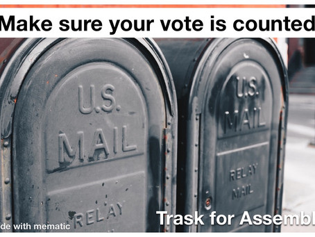 Feel unsafe about voting in person?