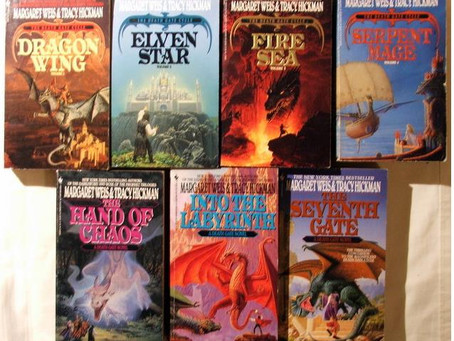My favorite series (aka how I started loving elves):