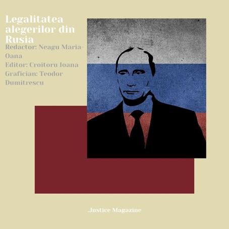 Legalitatea alegerilor din Rusia