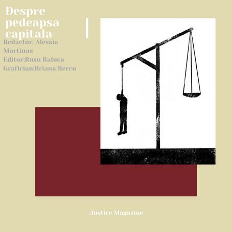 Despre pedeapsa capitală