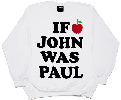 IF JOHN WAS PAUL WHITE