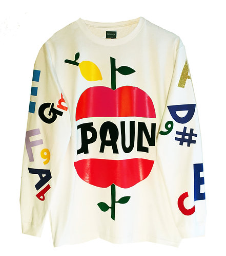TWO APPLES LONG SLEEVES T-SHIRTS