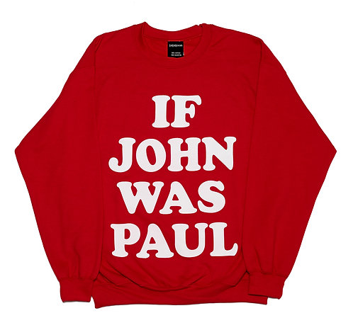 IF JOHN WAS PAUL Red