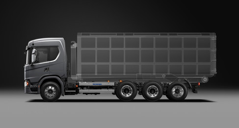 Scania Cargo G450 8x44 Arm Roll