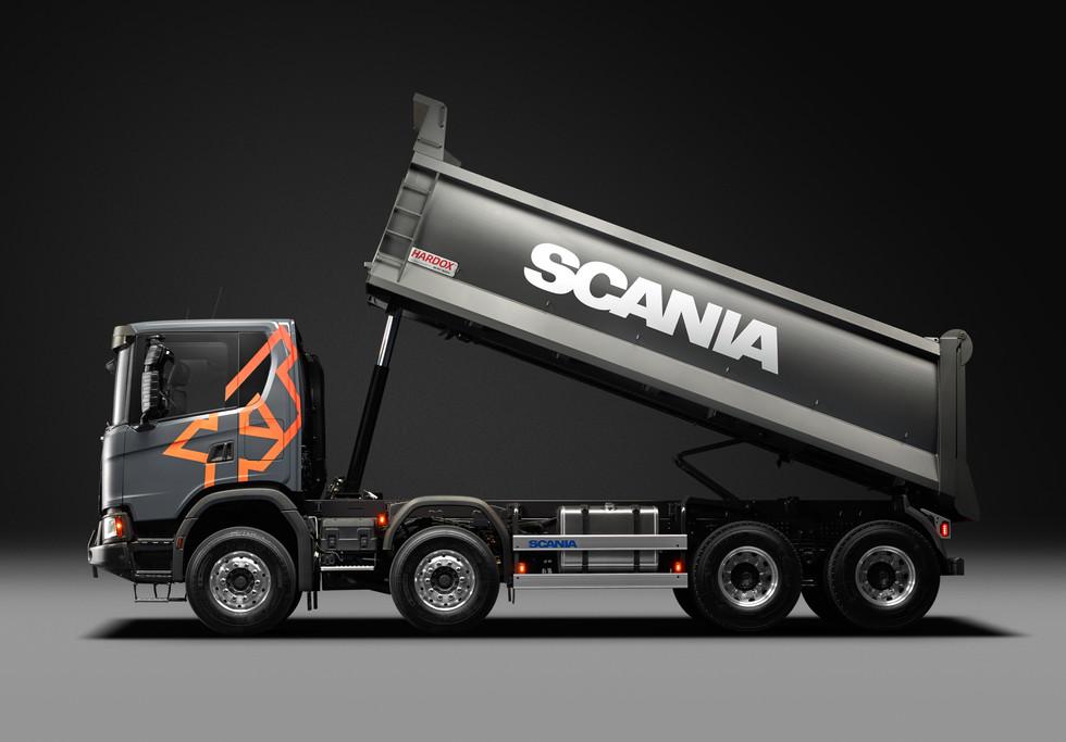 Scania Tipper XT G500 8X4