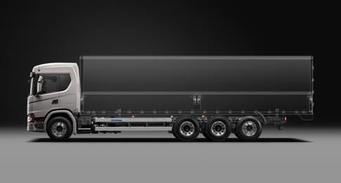 Scania Cargo G450 8x44 Wing Body