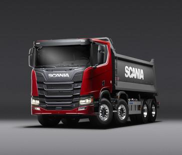 Scania Tipper_R580 V8 8x4