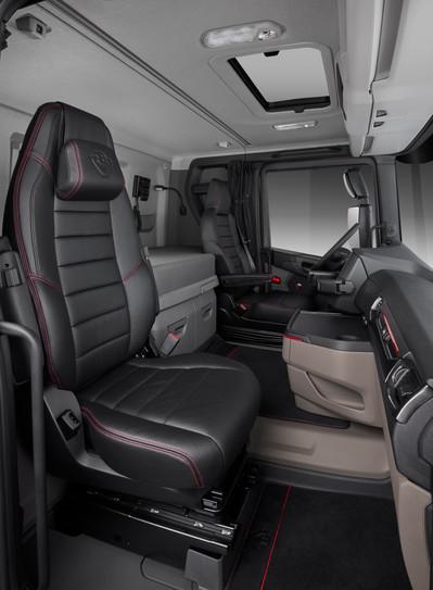 Scania Tipper R580 V8 8X4 Interior